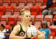 Jeanie Steyn will add much experience to the SPAR Madibaz team when they open their Varsity Netball programme against University of Johannesburg at the Madibaz Indoor Sports Centre in Port Elizabeth on Monday. Photo: Varsity Sports