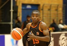Lance Chikore was part of the University of Johannesburg team which won the title in the University Sport South Africa basketball tournament earlier this year. Photo: Reg Caldecott