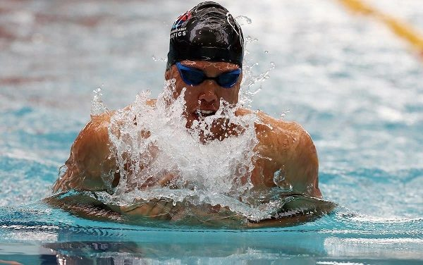 Swimming ace Alaric Basson was named Nelson Mandela University's Sportsman of the Year for the second time when the gala sports awards function was held this month. Photo: Supplied