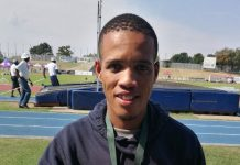 Long-distance runner Mariano Eesou was named the male athlete of the year at the Bestmed Madibaz Athletics Club awards function recently. Photo: Supplied