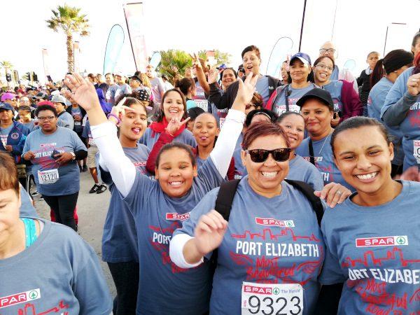 Women keen to take part in the SPAR Women's Challenge in Port Elizabeth