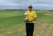 Madibaz golfer JP van der Watt was crowned the A division champion in the Humewood Golf Club championships in Port Elizabeth on Sunday.