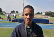 Bestmed Madibaz student-athlete Marianio Eesou is undergoing training sessions at the Eastern Cape resort of Hogsback during the Covid-19 lockdown.