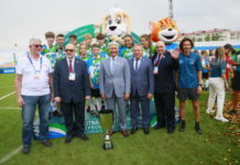 2019 F4F at the International Children's Games: Football for Friendship Match in Russia
