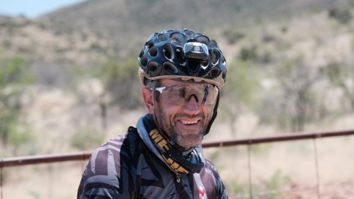 Alex Harris on track to break Race Across South Africa record
