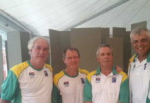 Ian Ackerman, Jean Hubert, Hein de Ridder and Martin Read in Croatia