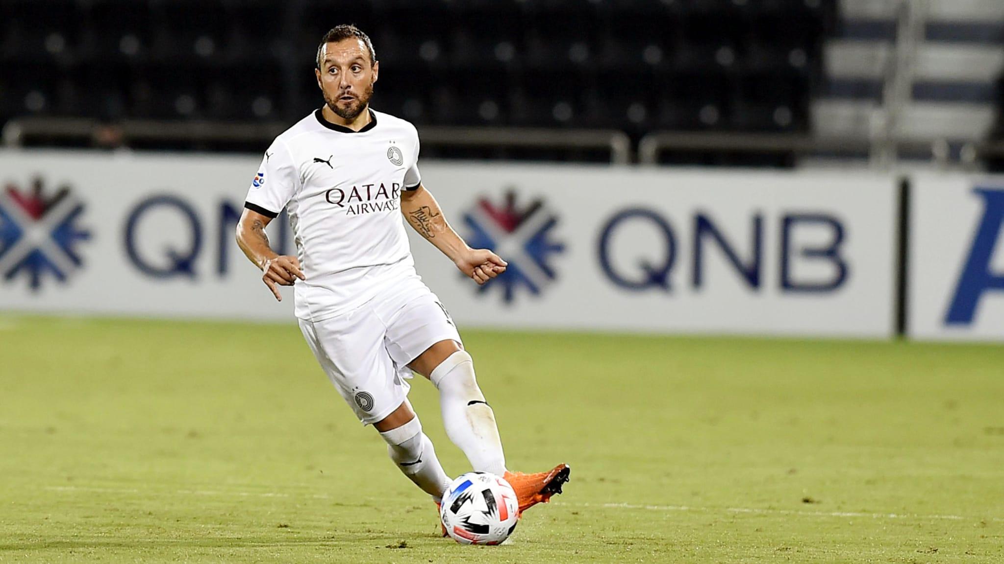 Al Sadd team player, Santi Cazorla