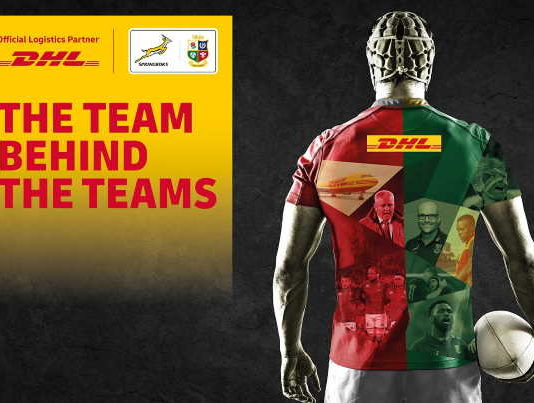 DHL announced as Official Logistics Partner for the 2021 Castle Lager Lions Series