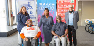 Spar Wheelchair Wednesday handover