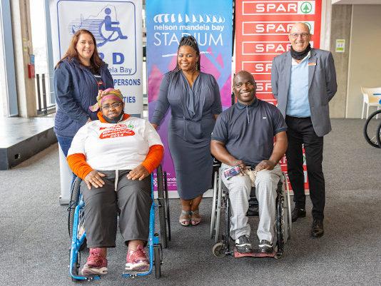 Spar Wheelchair Wednesday handover