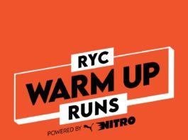 RYC WARM UP RUN before the JOBURG 10K CITYRUN