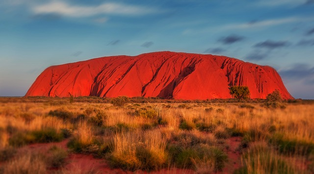 "Uluru, or Ayers Rock, is a massive sandstone monolith in the heart of the Northern Territory's arid ""Red Centre"". Photo: Pixabay"
