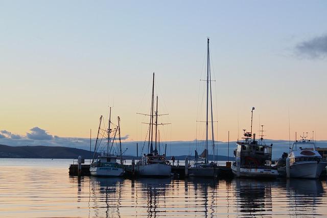 Hobart Harbor Sunrise