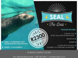Cape Summer Villas' Seal the Deal Package