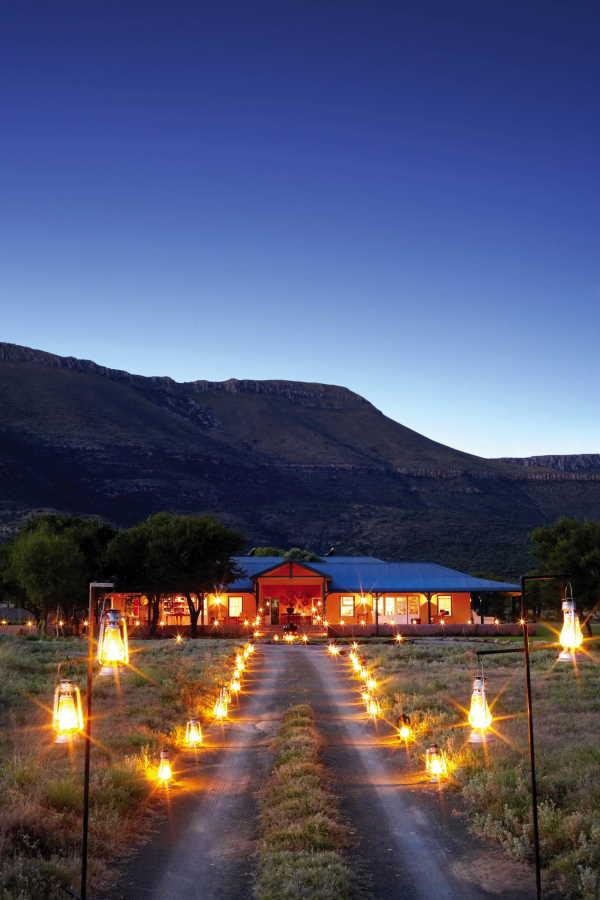 Karoo lodge evening