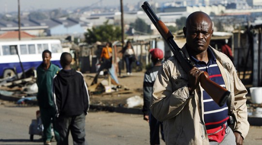 crime in south africa oral