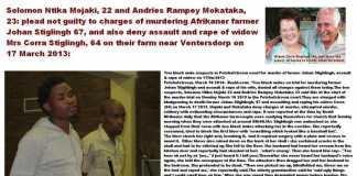 Murder of Afrikaner farmer Johan Stiglingh