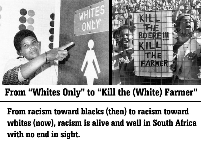 South Africa's White Genocide and Racism in the United ...