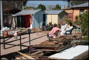 South Africa - Pretoria Squatter Camp