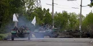 Ukraine soldiers killed in Sloviansk fighting