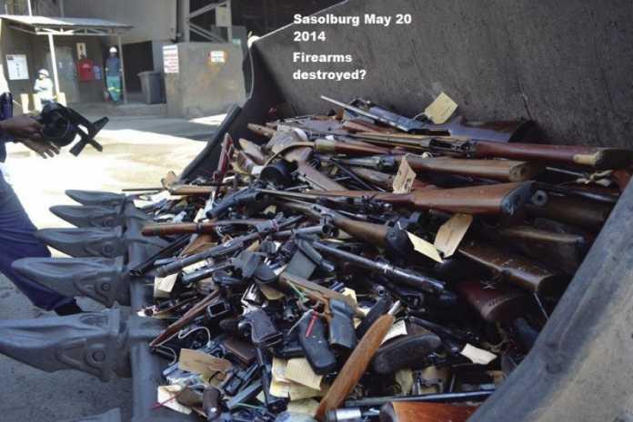 Massive firearms scandal - Johannesburg