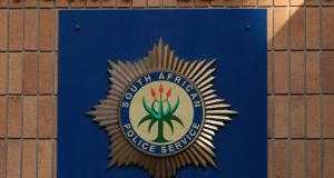 South African police emblem