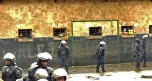 Democratic Republic of Congo prison break. Jail break in Democratic Republic of Congo.