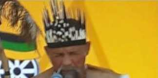 "Zuma, had a praise singer ""exorcise"" the spirit of Van Riebeeck"