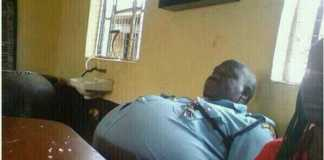 76% obesity in the South African police service