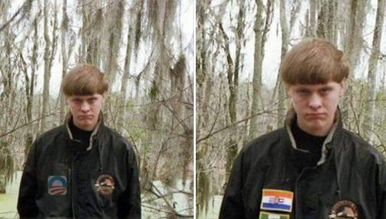 Charleston shooting: badges of former Rhodesian flag and former South African flag 'Photoshopped'