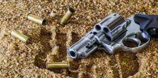 crime-scene-casings-gun