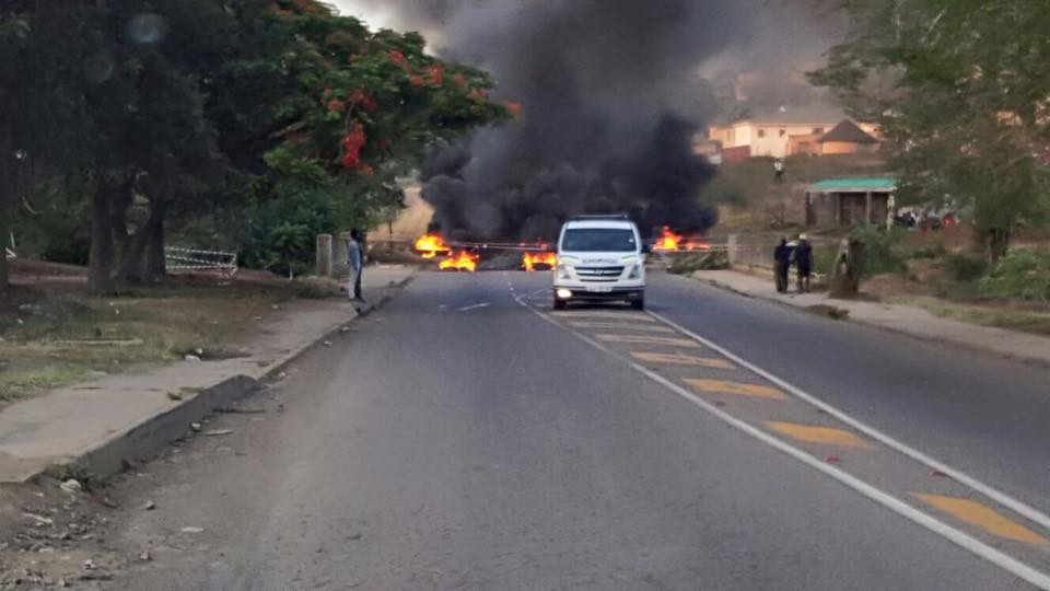 Serious protest unrest around South Africa