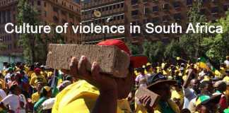 ANC culture of violence in South Africa. Photo via Twitter (@fedcb22)