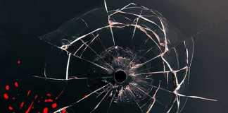 crime-scene-bullet-hole