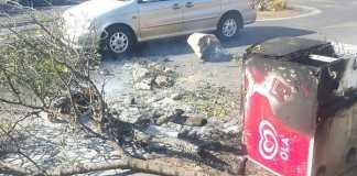 Protest-damage-in-Pretoria