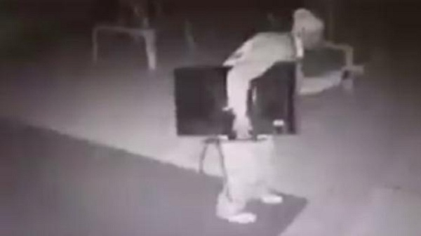 Robber-steals-TV-from-a-school-in-Mpumalanga-South-Africa