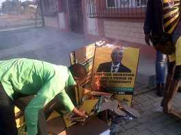 ANC-posters-burn-in-Marikana