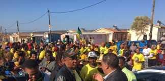 Protest-in-Port-Elizabeth