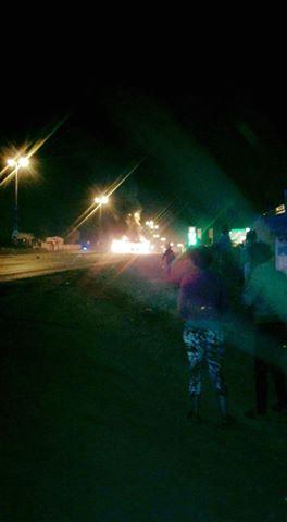 Soweto Protests Relatively Quiet After Burning A Bus Last