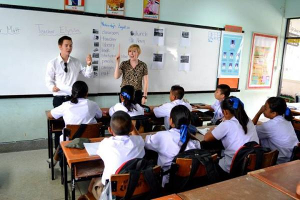 Teach English in thailand without a degree