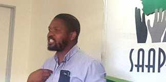 Black First Land First leader Andile Mngxitama