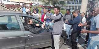 Wits Student protesters. Photo: CICA