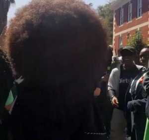 Afros must be of a reasonable size and well-kept. Screen-grab: Instagram.com