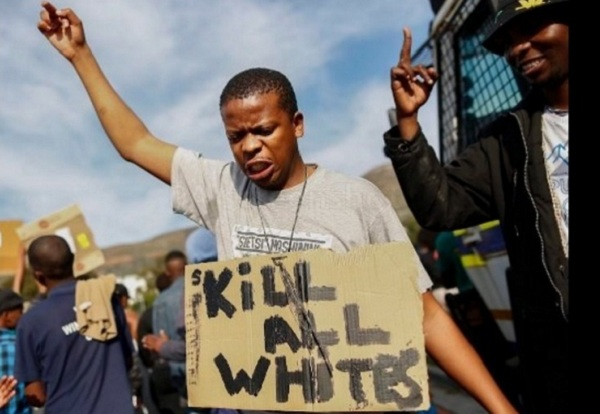Image result for kill the whites south africa