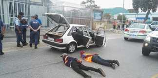 Two suspects arrested for hijacking in Motherwell. Photo: SAPS