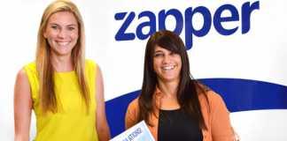 Left: Jessica Fowlds, Marketing & Communications Manager for Zapper SA. Right: Sorah Graber, R50 000 winner