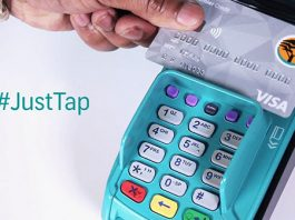 Contactless 'tap' payments soar as users and merchants adapt to the new technology. Photo: FNB