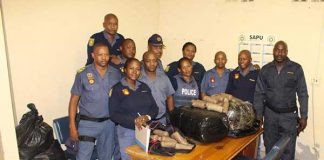 Police arrested two suspects in possession of drugs worth R10 million