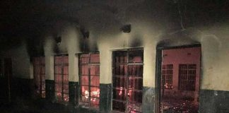 At least four schools incinerated within a month. Photo: SAPS