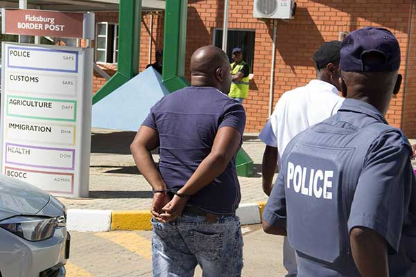 Eighteen arrested for corruption at the Ficksburg Border Post. Photo: SAPS